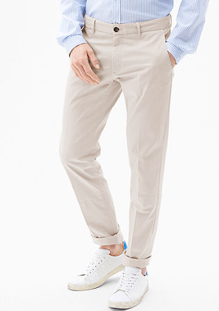 Mauro Slim: chino met stretch