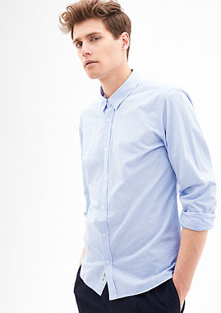 Modern fit: Lightweight patterned shirt from s.Oliver