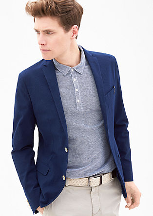 Slim: Summery sports jacket from s.Oliver