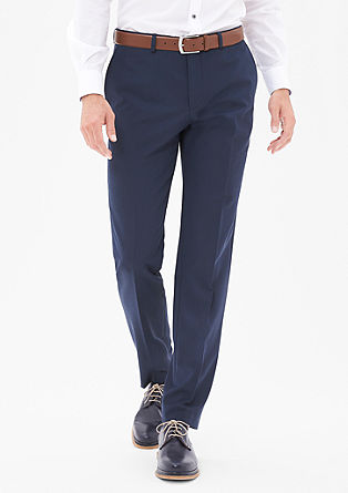 Slim Flex: Stretchy business trousers  from s.Oliver