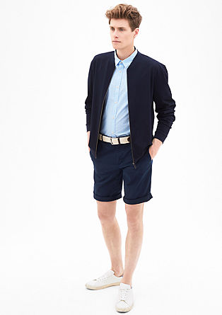 Slim: Bermudas with a belt from s.Oliver