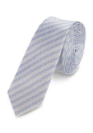 Črtasta svilena kravata