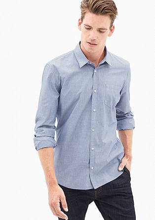 Modern Fit: Chambray-Hemd