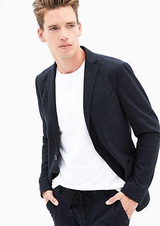 Slim: tracksuit suit jacket from s.Oliver