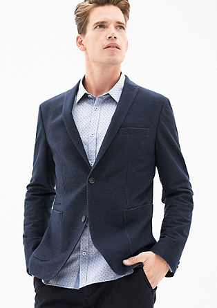 Napoli Slim: stretch sports jacket from s.Oliver