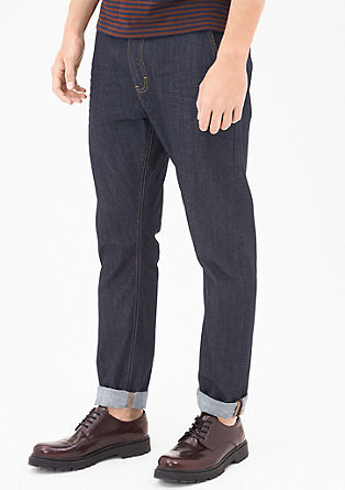 Stretto Straight: Rinse Washed Jeans