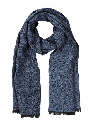 Melange viscose scarf from s.Oliver