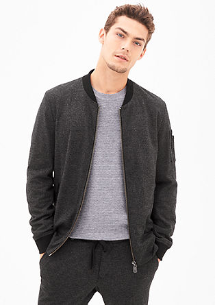 Elegante Jacke im Blouson-Stil