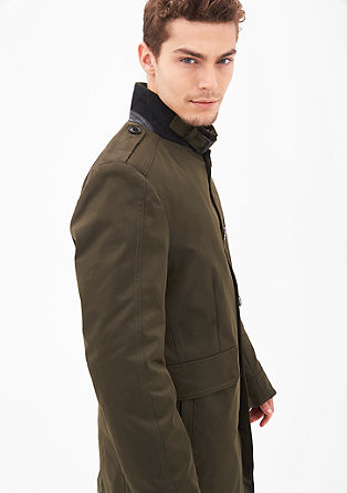 Modern fit: padded short coat from s.Oliver