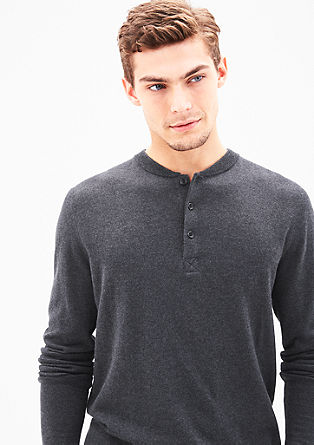 Fine merino wool jumper from s.Oliver