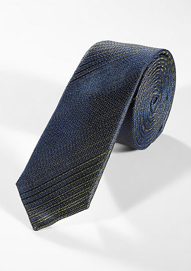 Iridescent silk tie from s.Oliver