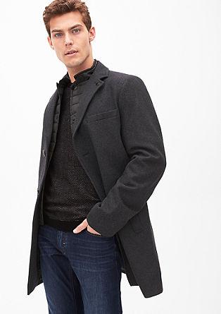 Slim Fit: manteau en laine élégant de s.Oliver
