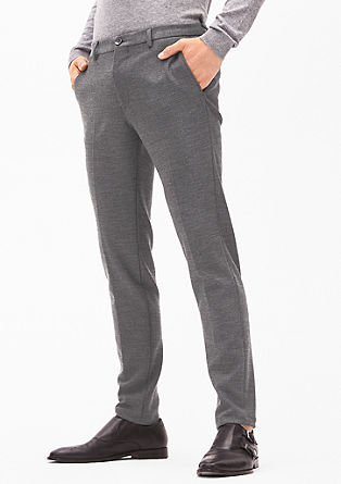 Cosimo Slim Flex: Casual suit trousers from s.Oliver