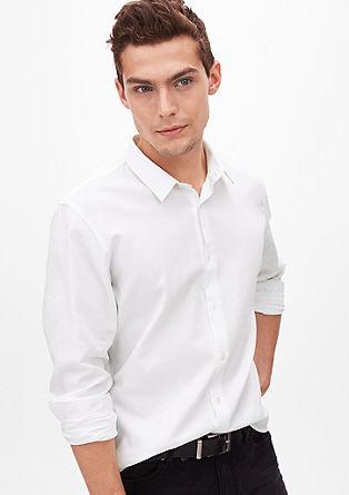 Slim: srajca z rombasto teksturo