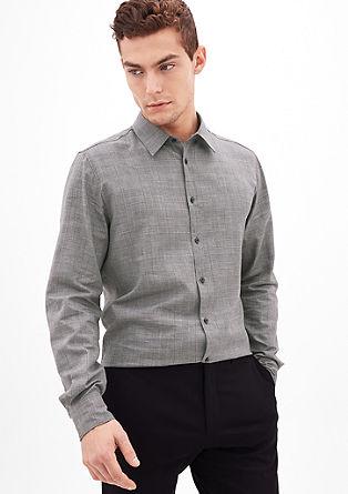 Modern Fit: karirasta srajca iz tvila