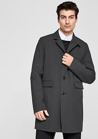 Lightweight coat with a stand-up collar from s.Oliver