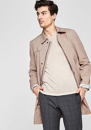 Modern Fit: lightweight short coat from s.Oliver