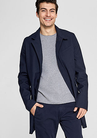 Comfort fit: short coat with a stand-up collar from s.Oliver