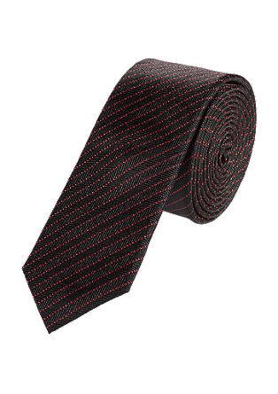 Kravata sčervenými proužky