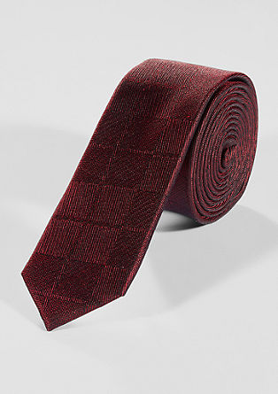 Tonal patterned tie from s.Oliver