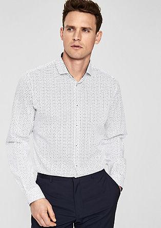 Slim Fit: košile sdrobným vzorem