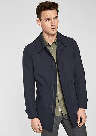 Elegante Jacke aus Baumwollmix