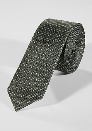Krawatte mit Strukturmuster