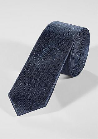 Cravate en soie à motif structuré de s.Oliver