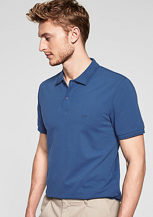 Stretch piqué polo shirt from s.Oliver