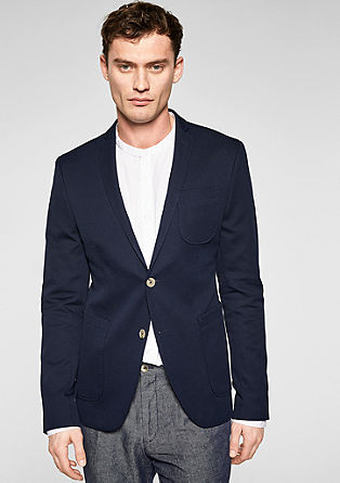 Cosimo Flex Slim: textured sports jacket from s.Oliver