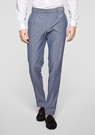 Cosimo Flex Slim: stretch business trousers from s.Oliver