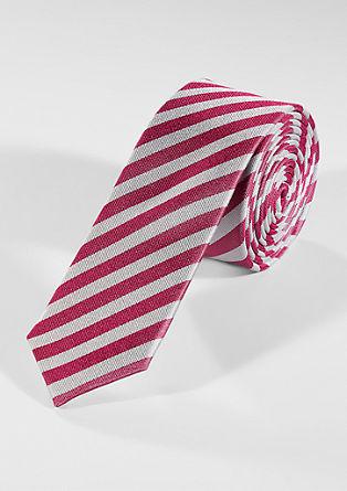 Vzorovaná hedvábná kravata