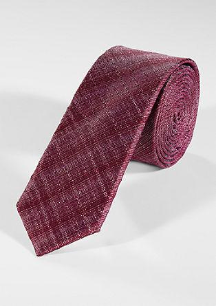 Krawatte mit Webstruktur
