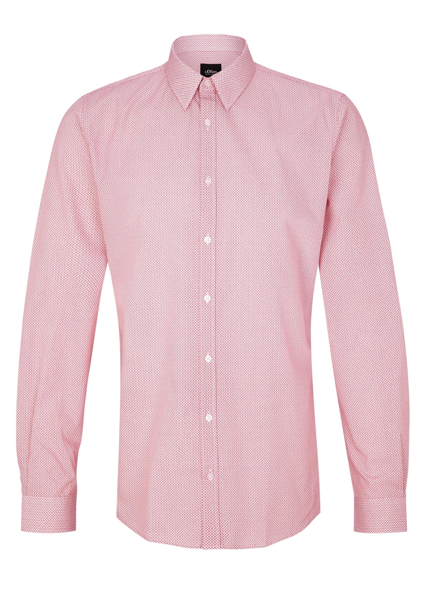 Businesshemd | Bekleidung > Hemden > Business Hemden | Rot | 100% baumwolle | s.Oliver BLACK LABEL