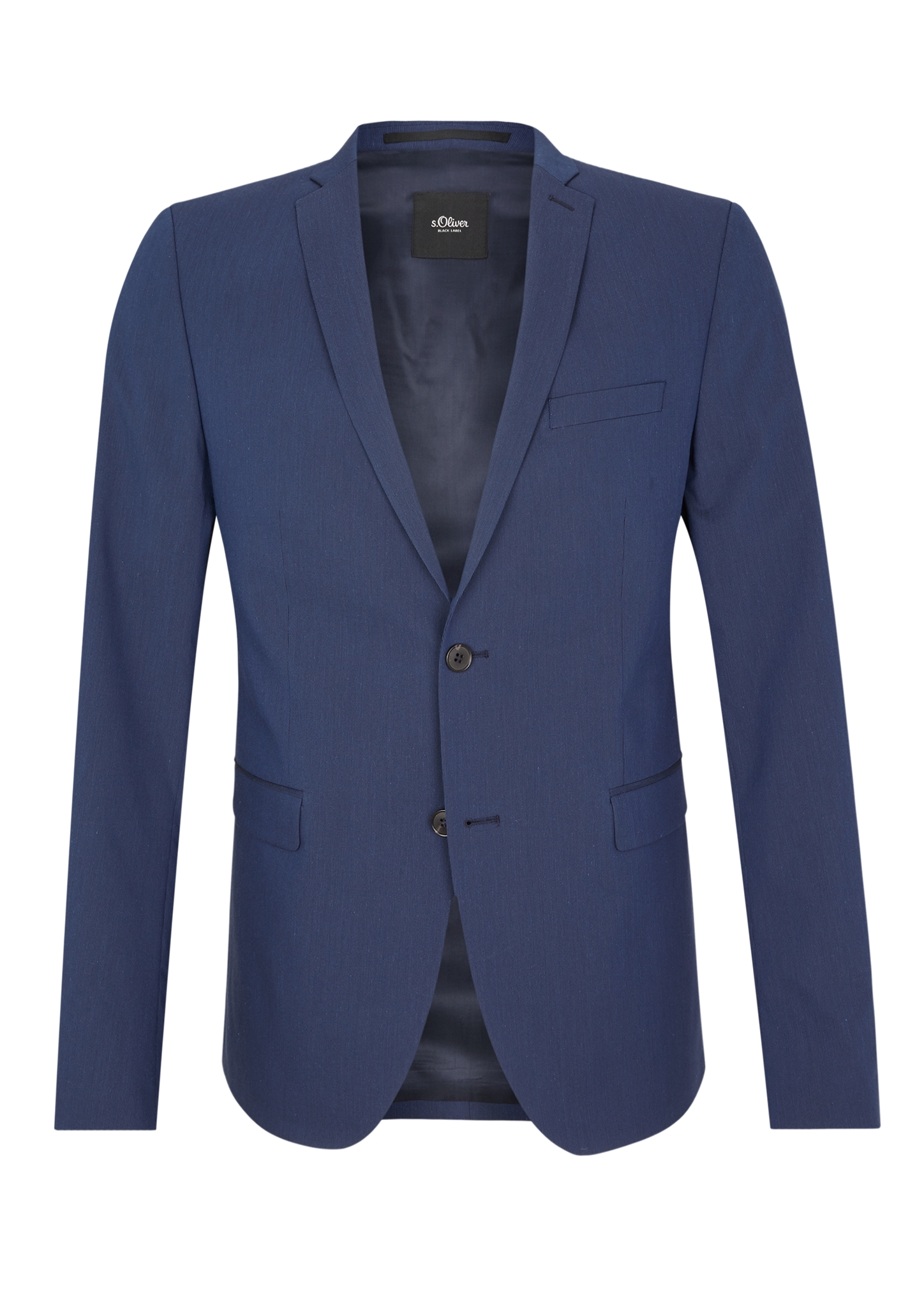 Sakko | Bekleidung > Sakkos > Sonstige Sakkos | Blau | Obermaterial 64% baumwolle -  32% polyester -  4% elasthan| futter 54% acetat -  46% viskose | s.Oliver BLACK LABEL