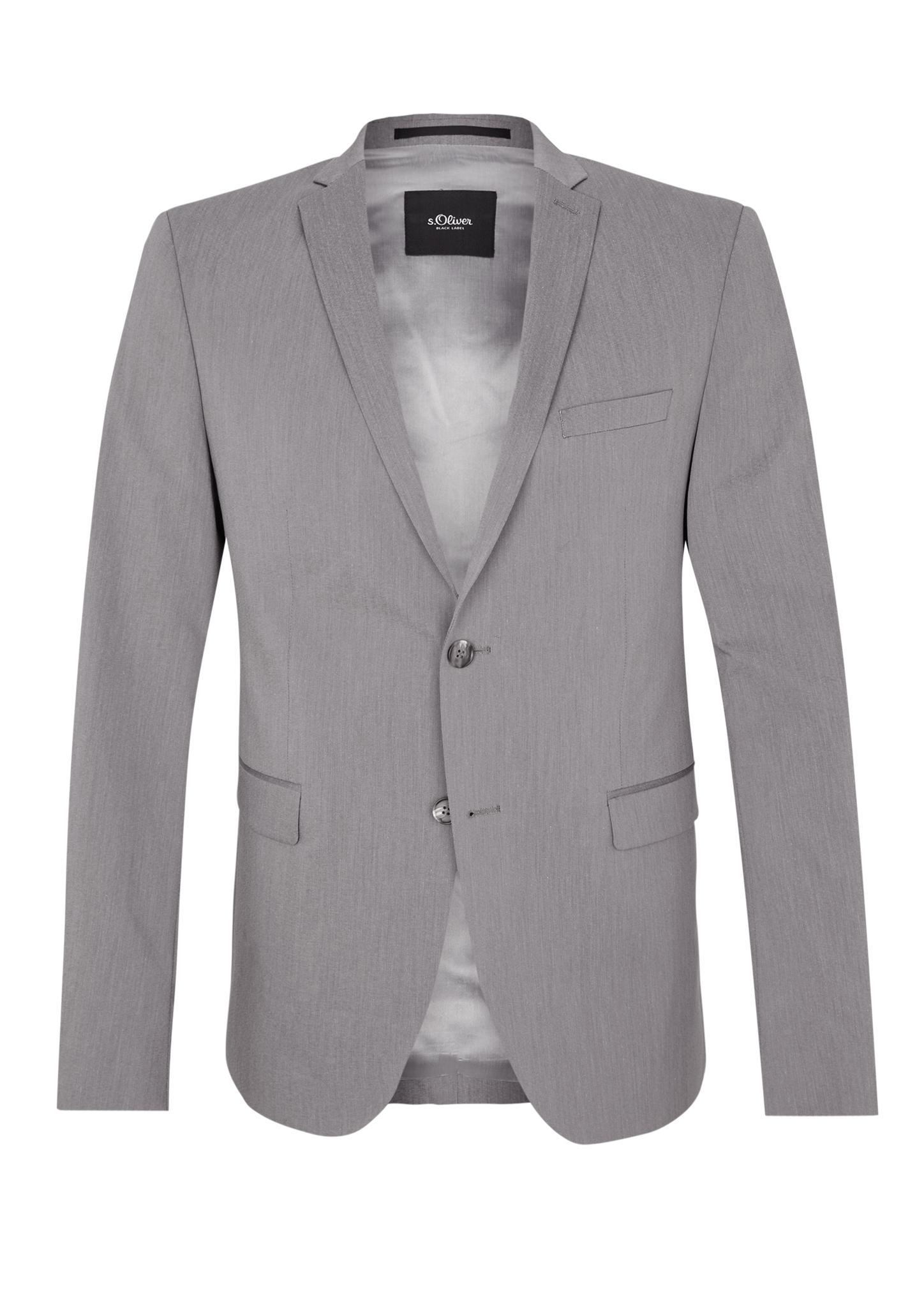 jogg suit slim stretch sakko kaufen s oliver shop  Gnstig Soliver Grau Sakkos Herren Auf Verkauf P 1118 #4