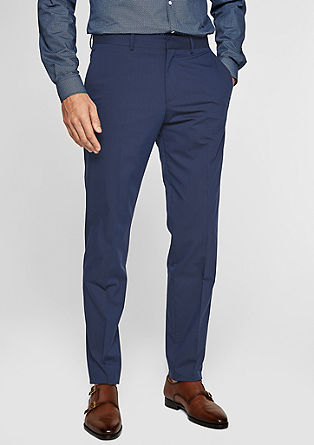 Cesano slim: luchtige business pantalon