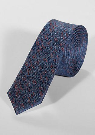 Zijden stropdas met motief