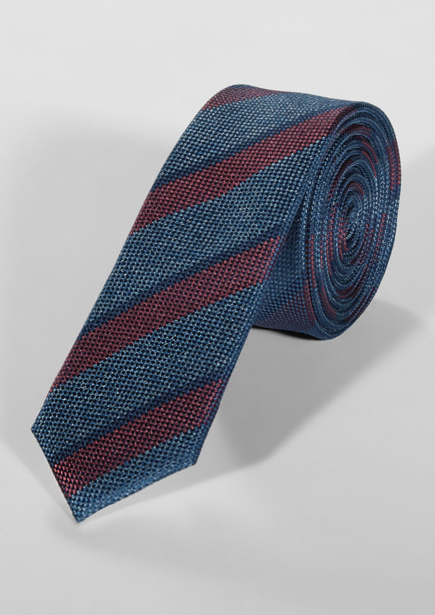 Krawatte | Accessoires | Blau | Obermaterial 100% seide| futter 100% polyester | s.Oliver BLACK LABEL