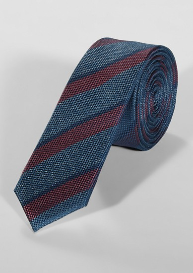 Cravate en soie rayée de s.Oliver