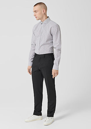 Fusion suit slim: business pantalon