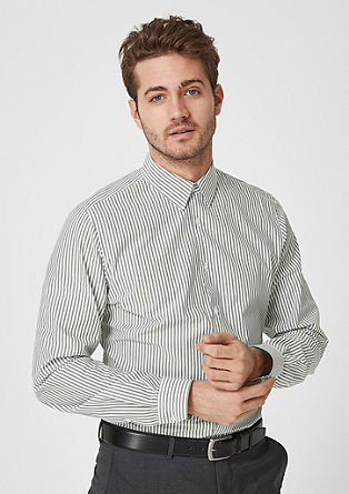 Slim fit: Business overhemd