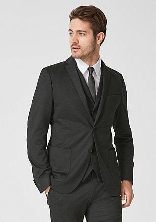 Cosimo Flex Slim: vzorčast raztegljiv suknjič