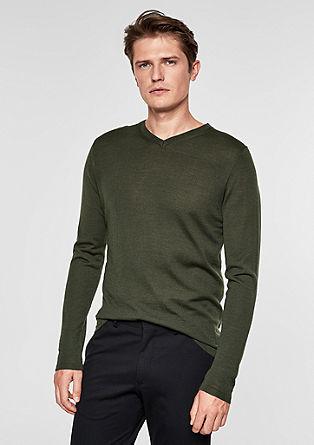 Fine merino wool jumper from s.Oliver
