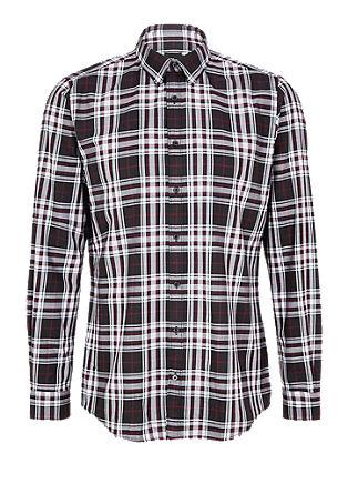 Slim Fit: karirasta flanelasta srajca