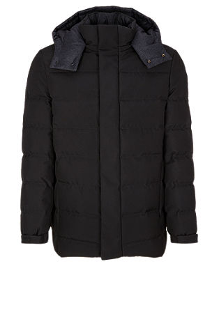Warm quilted jacket with down from s.Oliver