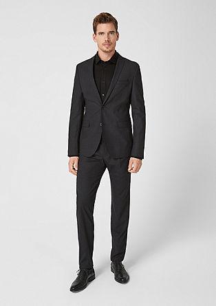 Cesano Slim: vzorčast raztegljiv suknjič