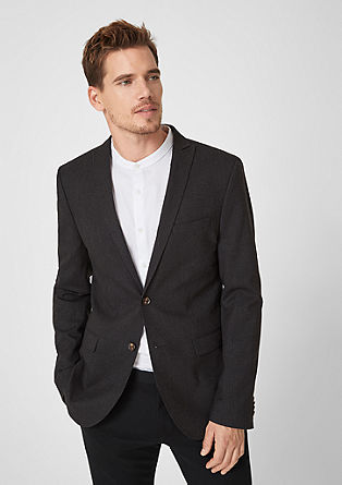Cosimo Flex Slim: Pinstripe jacket from s.Oliver