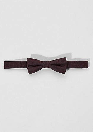 Melange suit bow tie from s.Oliver
