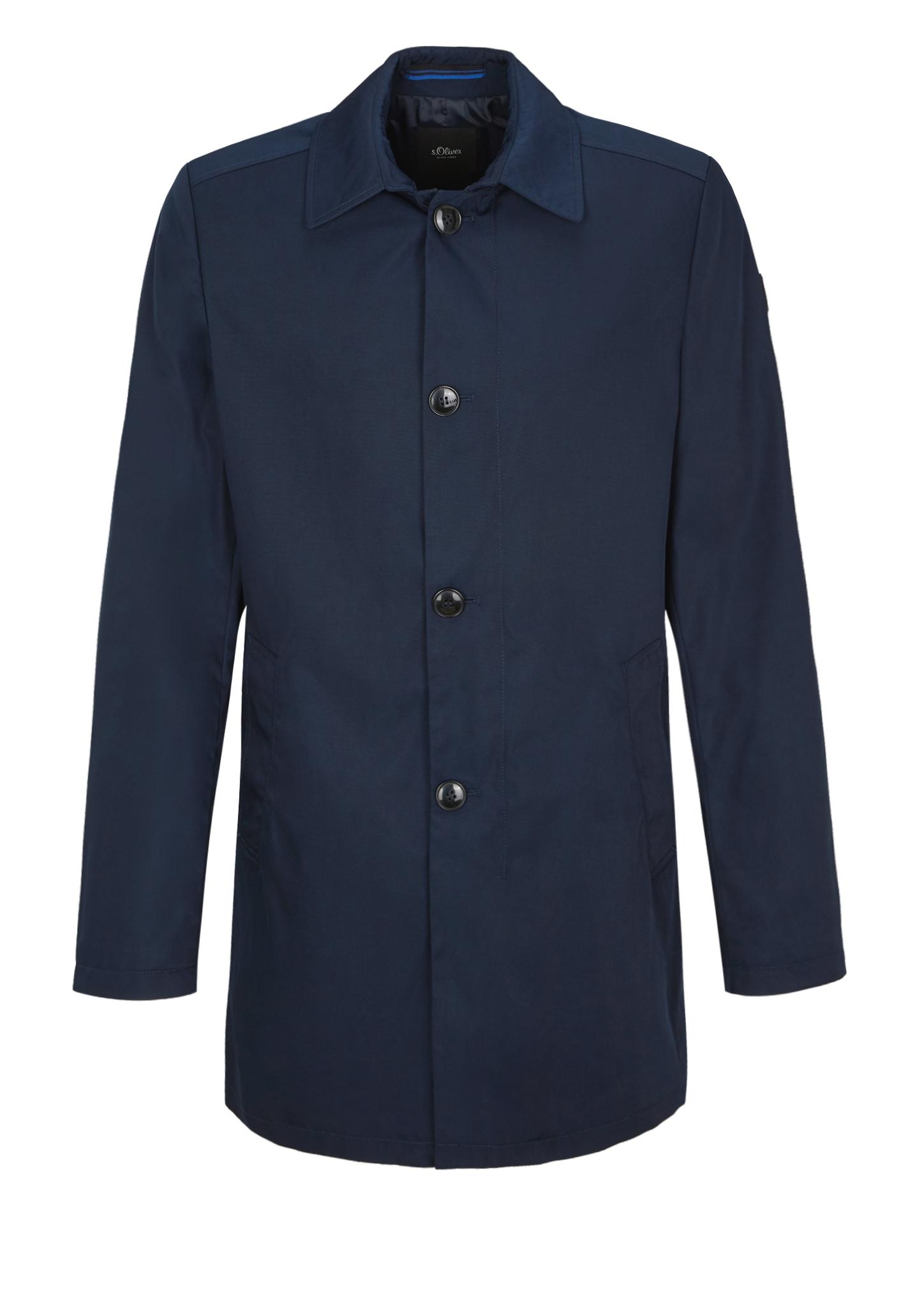 Mantel   Bekleidung > Mäntel > Sonstige Mäntel   Blau   Oberstoff: 100% polyester  futter: 100% polyester   s.Oliver BLACK LABEL